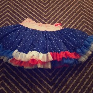 Cutest tutu shirt ever! Little Girl size 5/6
